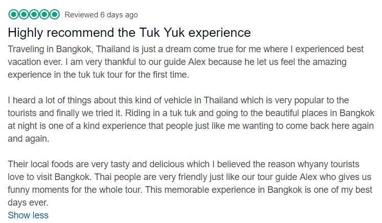 midnight tuktuk food tour